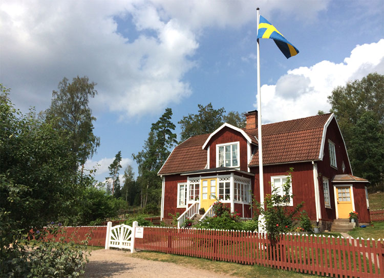 Wohnhaus, Katthult Hof, Gibberyd, Schweden © Andrea David