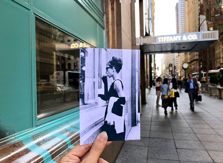 "Drehorte ""Frühstück bei Tiffany"", New York"