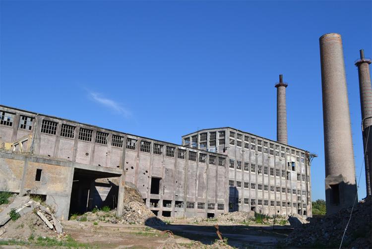 Ruine des alten Chemiewerks, Rüdersdorf © Matthias Gebauer