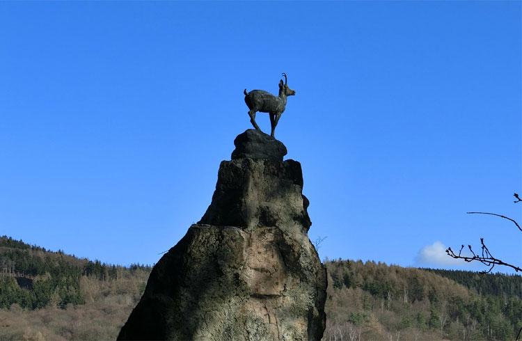 """Am """"Hirschsprung"""", Karlovy Vary, Karlsbad, Tschechien"""