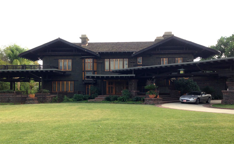 Gamble House, Pasadena, Los Angeles © Martin Busker