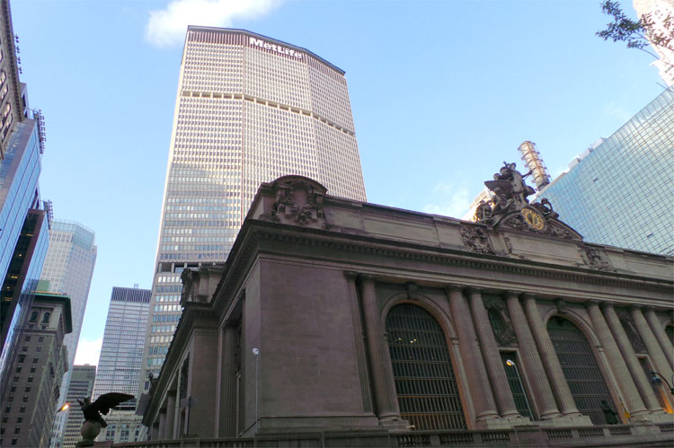 MetLife Building & Grand Central Terminal, New York