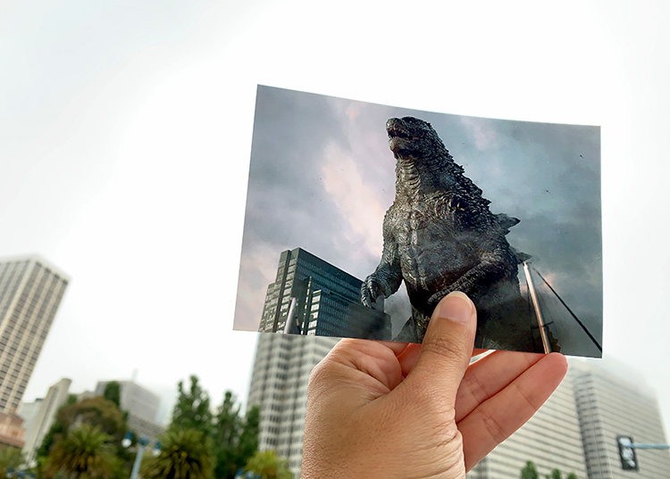 Godzilla-Drehort in San Francisco