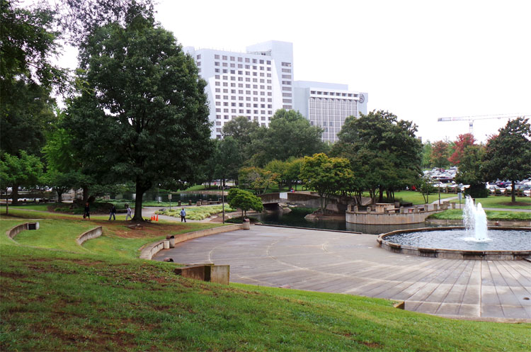 Marshall Park, Charlotte, North Carolina © Andrea David