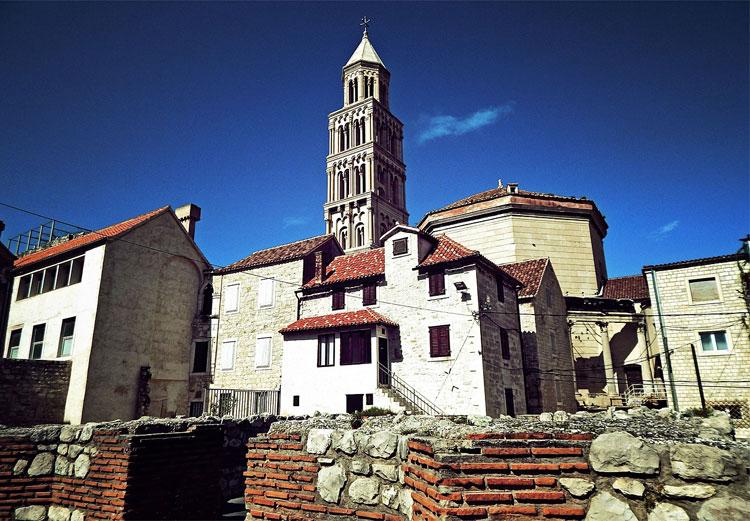 Diokletianpalast, Split, Kroatien