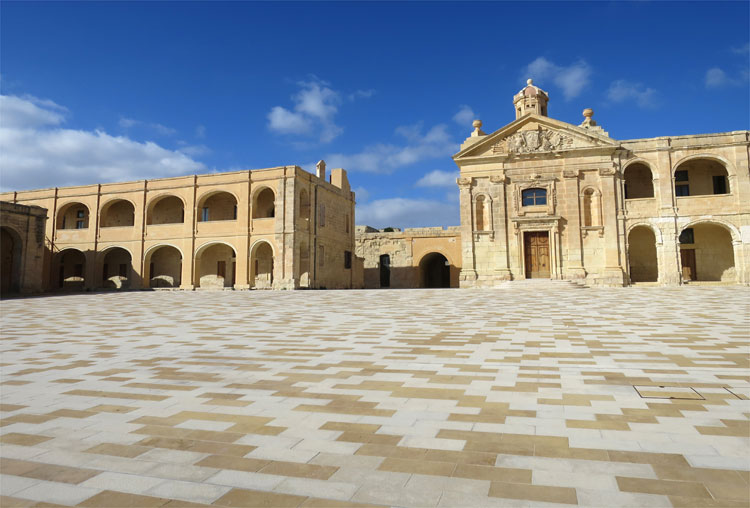 """Game of Thrones"" Drehort Fort Manoel, Malta"