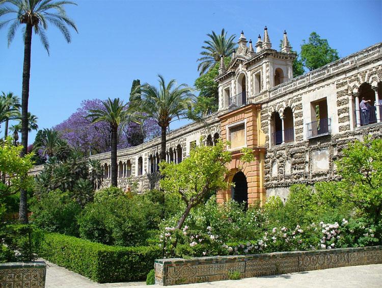 """Königspalast """"Reales Alcázares"""", Sevilla, Andalusien"""