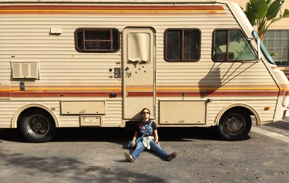 """Breaking Bad"" Camper © Andrea David"