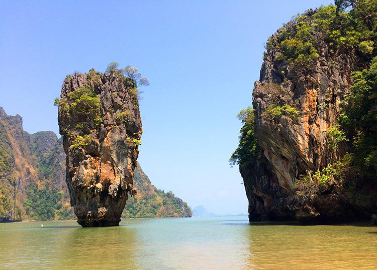 """""""James Bond Insel"""" Ko-Phing-Kan mit Ko Tapu, Phang-Nga-Bucht, Thailand"""