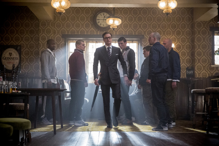 "Harry Hart (Colin Firth) im Black Prince Pub in ""Kingsman"" © Twentieth Century Fox"