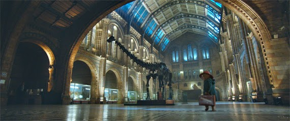 Paddington Movie Natural History Museum