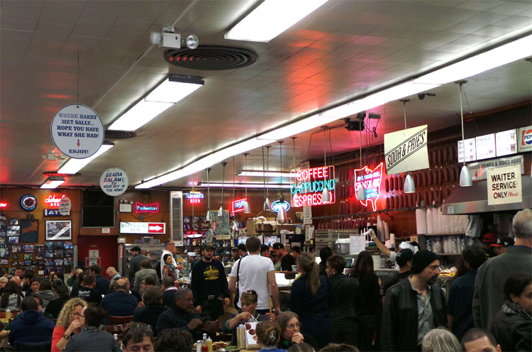 Katz's Delicatessen, New York © Andrea David