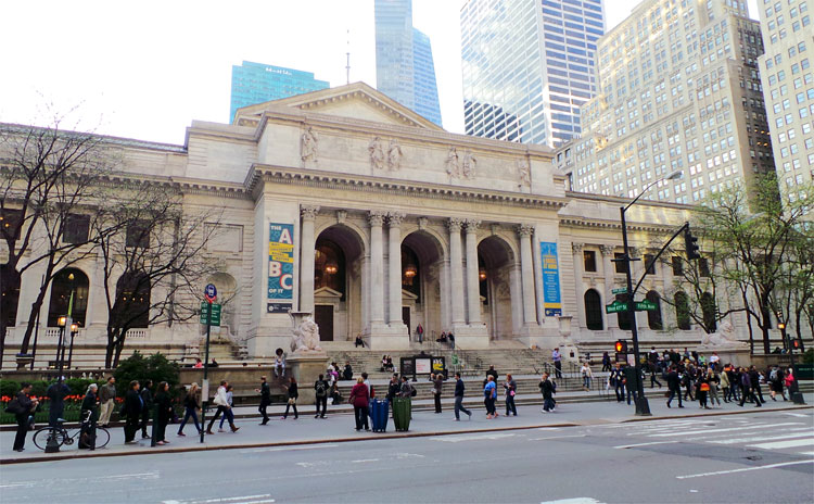New York Public Library © Andrea David