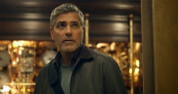 Frank (George Clooney) © 2015 Disney
