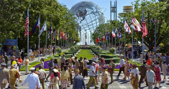 Weltausstellung 1964 © 2015 Disney