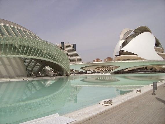 Stadt der Künste und der Wissenschaften, Valencia, Spanien