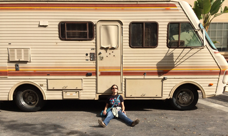 "Der Camper aus ""Breaking Bad"" © Andrea David"