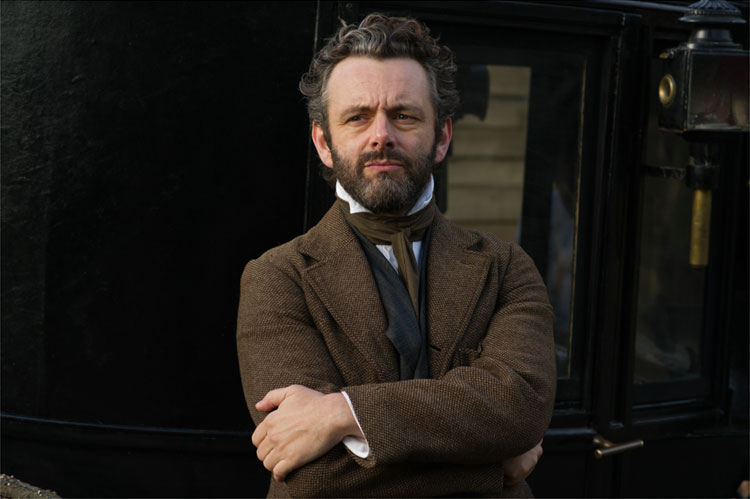 Mr. Boldwood (Michael Sheen) © 2015 Twentieth Century Fox