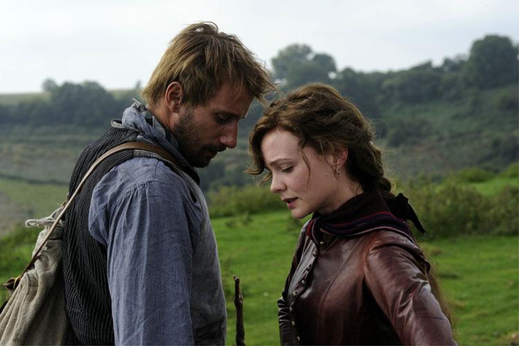 Gabriel Oak (Matthias Schoenaerts) und Bathsheba Everdene (Carey Mulligan) © 2014 Twentieth Century Fox