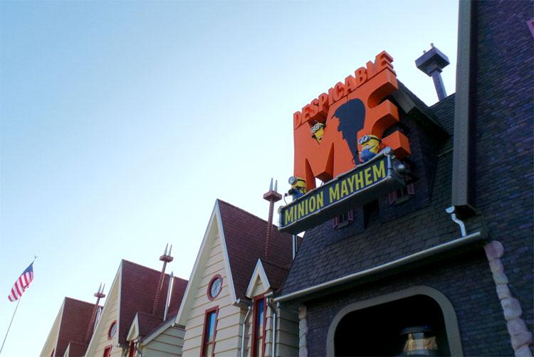 Minion Mayhem, Universal Studios Hollywood © Andrea David