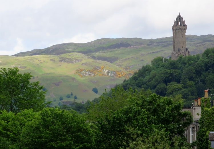 Wallace Monument, Stirling, Schottland © Andrea David