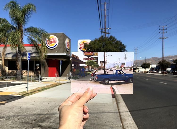 """Zukunft""""-Drehort in Burbank, Los Angeles"""