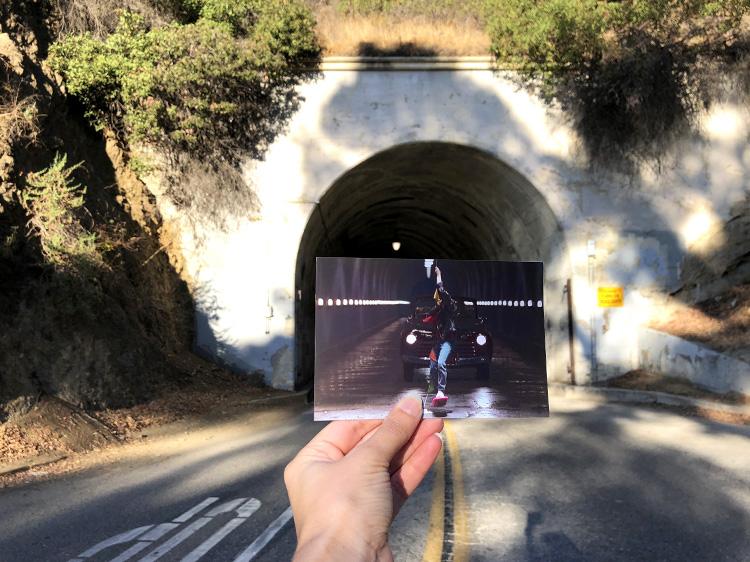 """""""Zurück in die Zukunft""""-Drehort Griffith Park Tunnel, Los Angeles"""