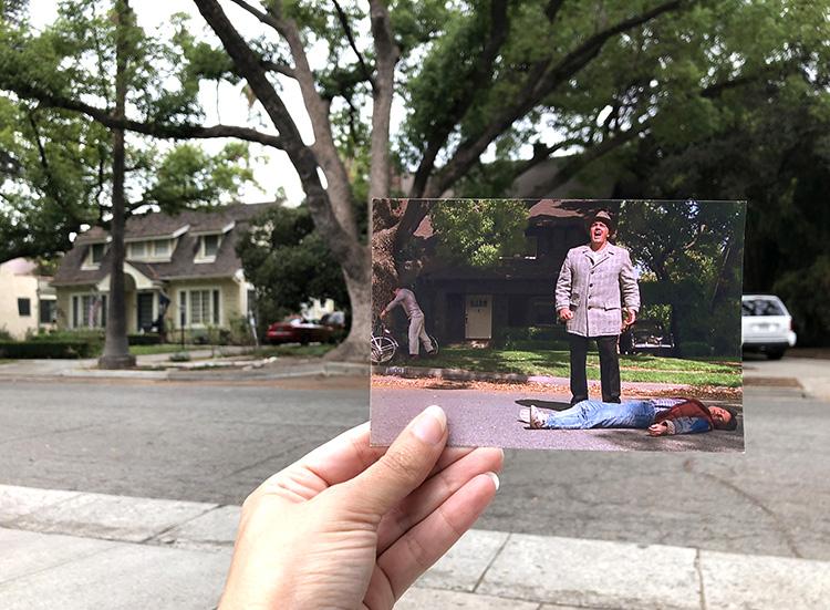 """""""Zurück in die Zukunft""""-Drehort in Pasadena, Los Angeles"""