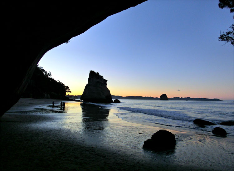 Cathedral Cove, Neuseeland © Corinna Laimer