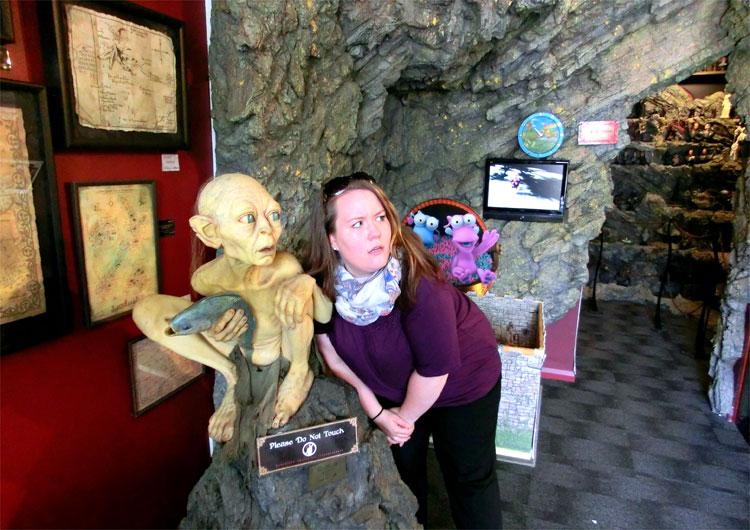 Weta Cave, Wellington, Neuseeland © Corinna Laimer