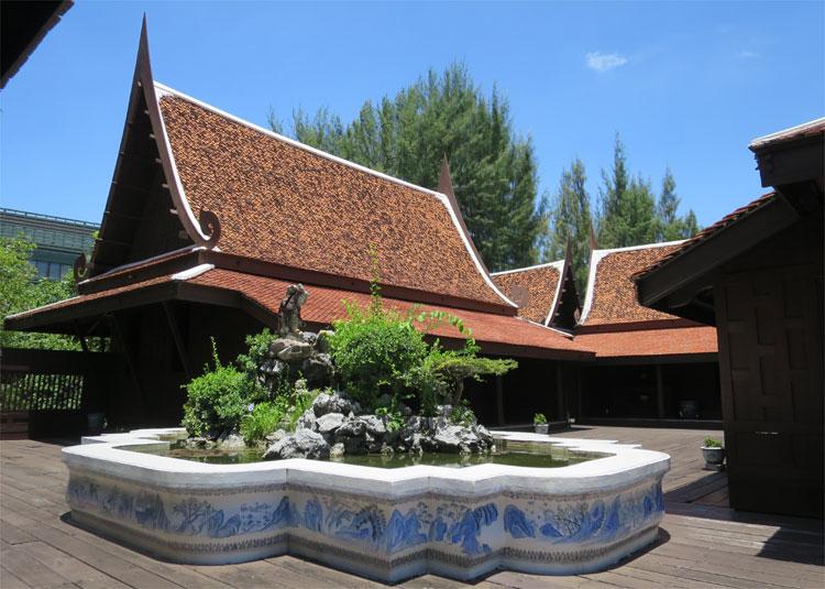 Dvaravati House, Ancient City, Muang Boran, Thailand © Andrea David