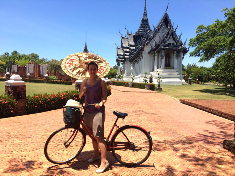 Phimai Sanctuary, Unterwegs in der Ancient City, Muang Boran, Thailand © Andrea David
