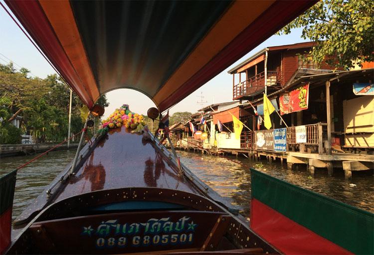 Auf den Khlongs, Bangkok, Thailand © Andrea David