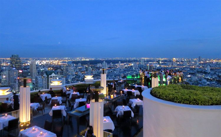 Skybar, Lebua at State Tower, Bangkok, Thailand © Andrea David