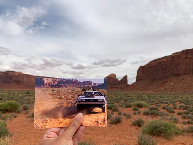 """""""Zurück in die Zukunft""""-Drehort im Monument Valley, Utah"""