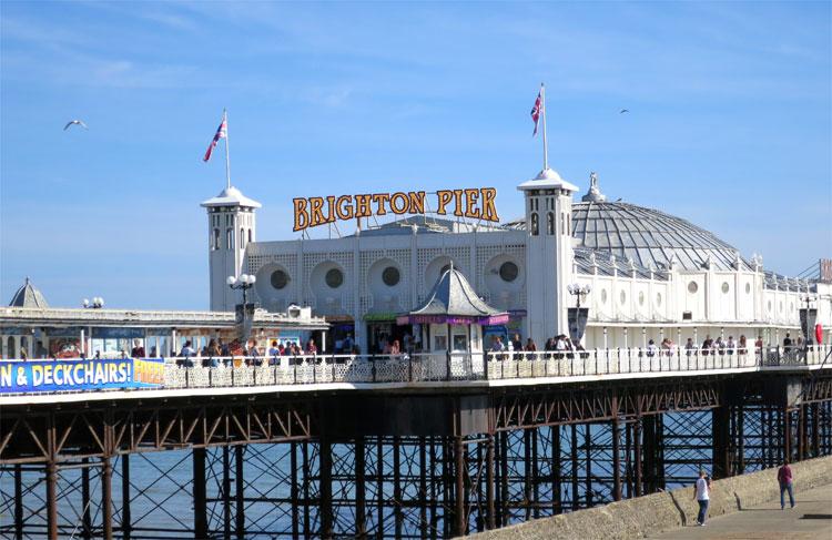 Brighton Pier, Sussex, England © Andrea David