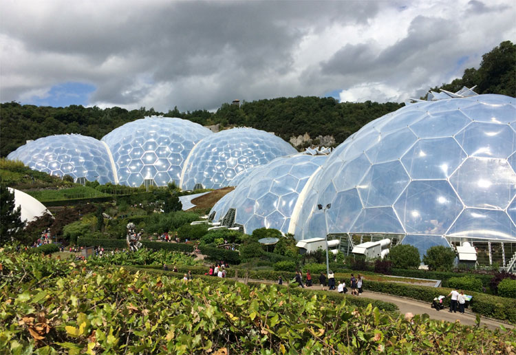 Eden Project, St. Austell, Cornwall, England © Andrea David