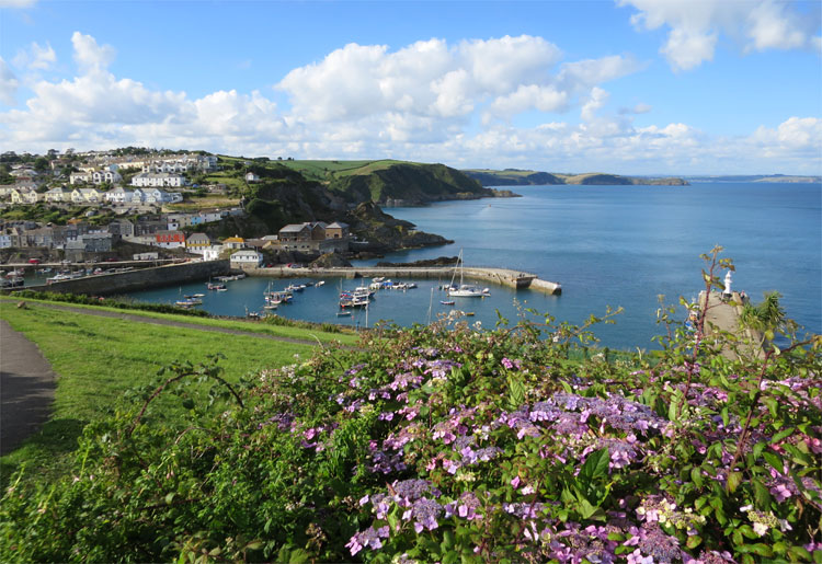 Roseland Heritage Coast, Cornwall, England © Andrea David