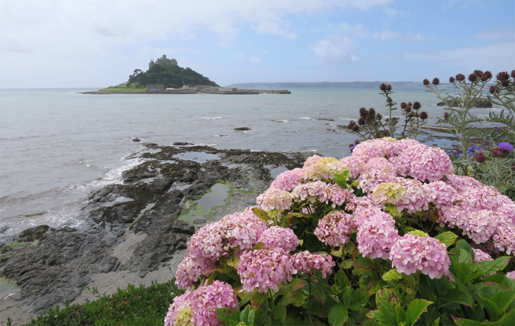 St. Michael's Mount, Cornwall, England © Andrea David