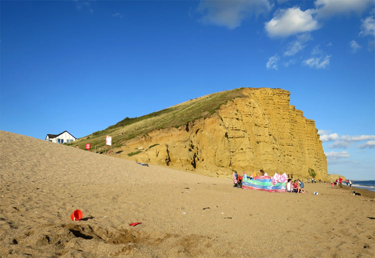 West Bay, Dorset, England © Andrea David