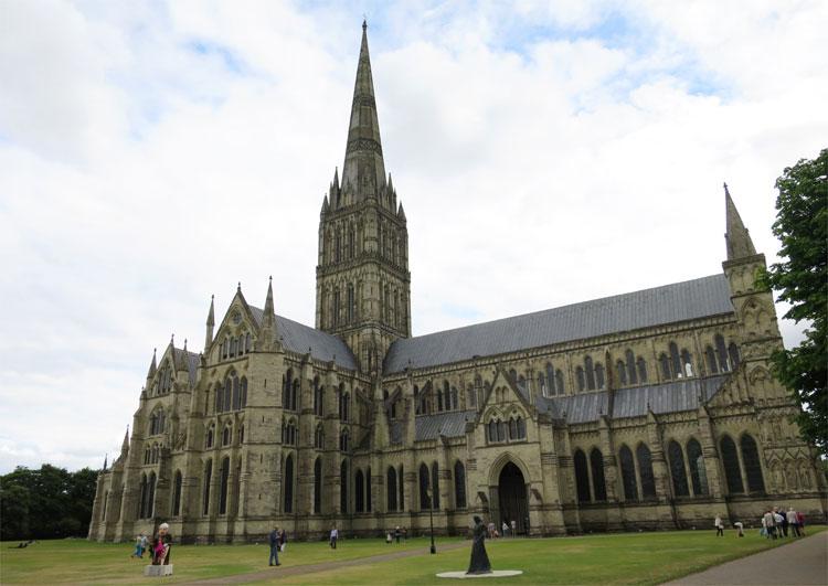 Kathedrale von Salisbury, England © Andrea David