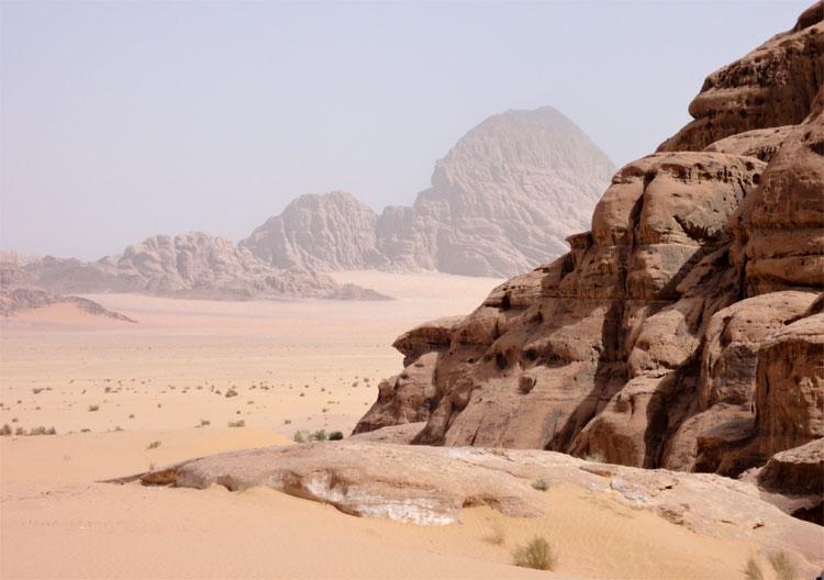 Wadi Rum, Jordanien © Andrea David