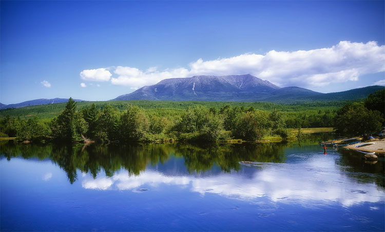 Mount Katahdi, Maine, USA