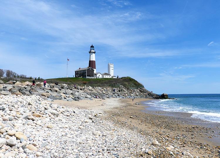 Leuchtturm in Montauk, Long Island