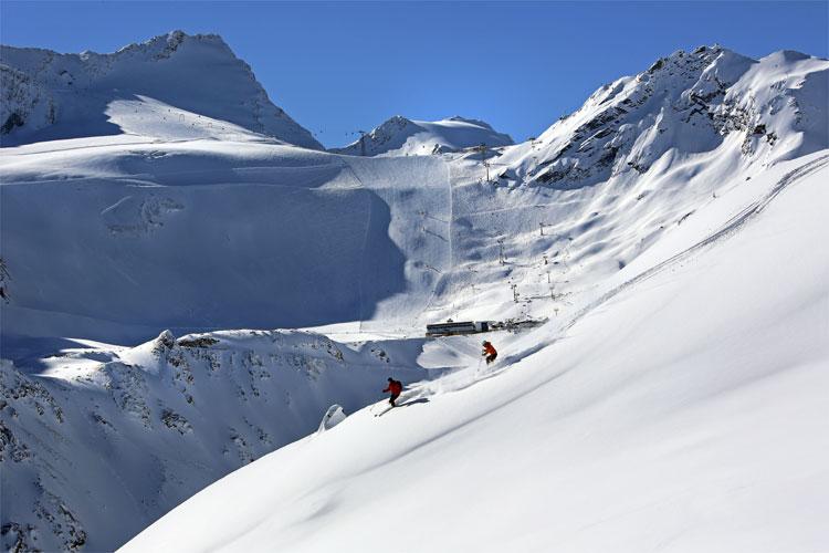 Gletscherskigebiet Sölden, Tirol © Bergbahnen Sölden / Ötztal Tourismus