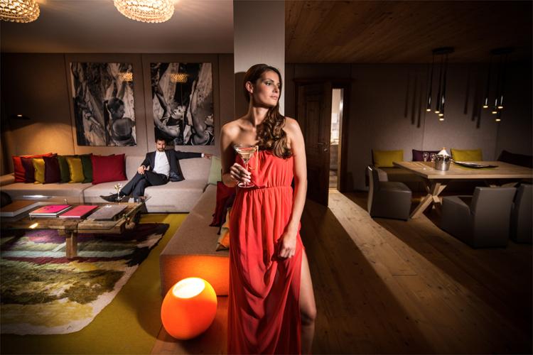 James Bond Suite, Hotel Bergland, Sölden, Tirol © Hotel Bergland