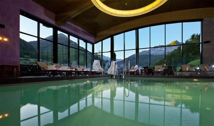 Sky Spa, Hotel Bergland, Sölden, Tirol © Andrea David