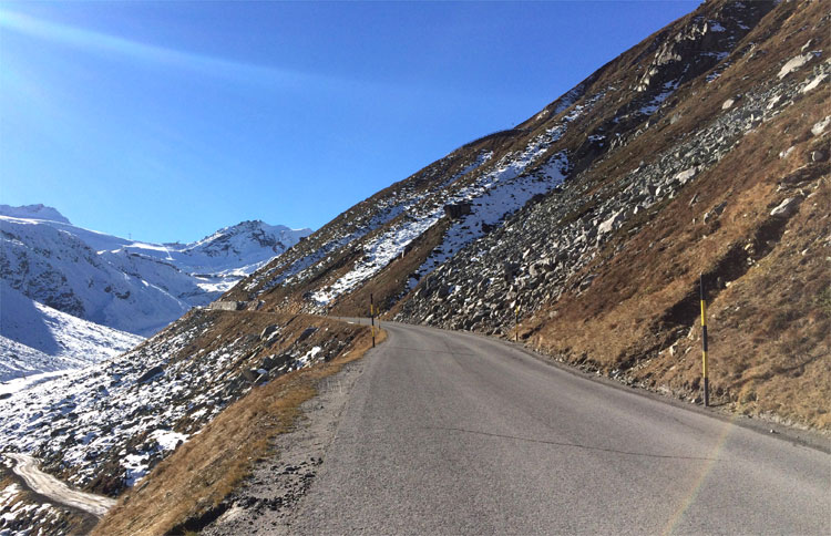 Gletscherstraße, Sölden, Tirol © Andrea David