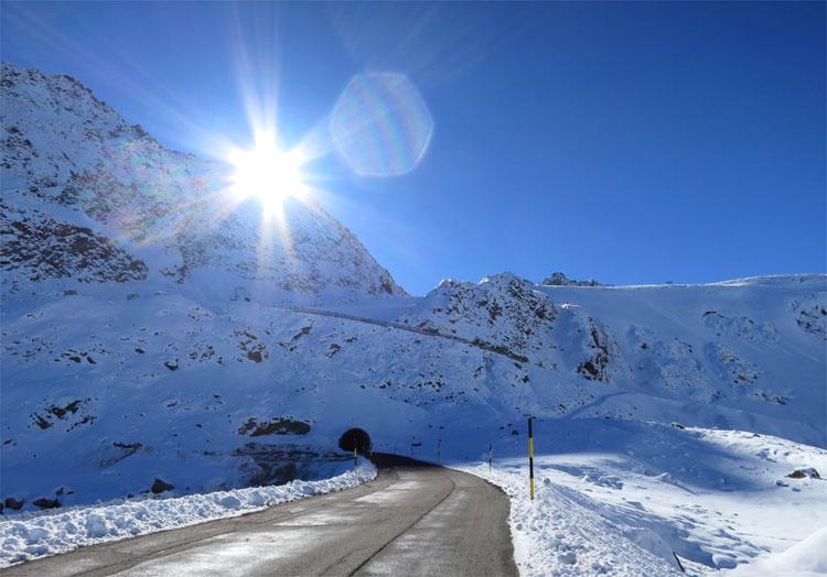 Gletschertunnel, Sölden, Tirol © Andrea David