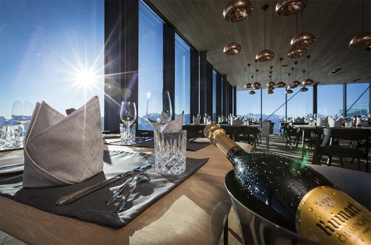 Gourmetrestaurant ice Q, Gaislachkogel, Sölden, Tirol © ice Q